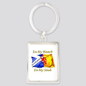 In My Heart Scotland Darks Keychains