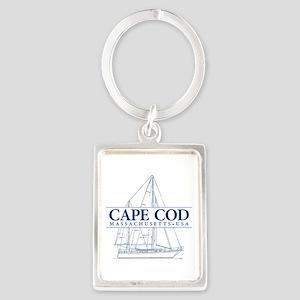 Cape Cod - Portrait Keychain