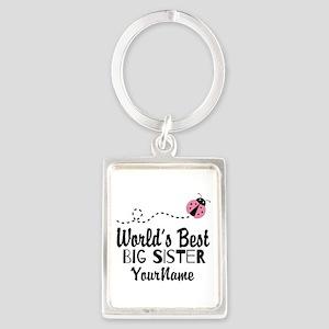 Worlds Best Big Sister - Personalized Portrait Key