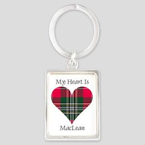 Heart-MacLean Portrait Keychain