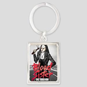 Blood Sister revised Portrait Keychain
