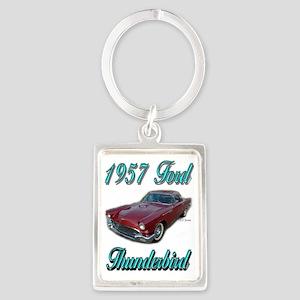 1957 Thunderbird Portrait Keychain