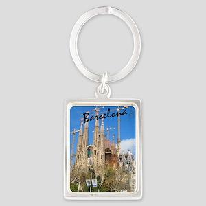 Barcelona_5.5x8.5_Journal_LaSagr Portrait Keychain