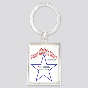 Team  Cindy's Stars LTN Tee Portrait Keychain