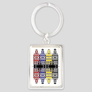 Amsterdam Architecture - Merchan Portrait Keychain