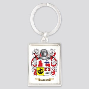MacLean Coat of Arms - Family Cr Portrait Keychain