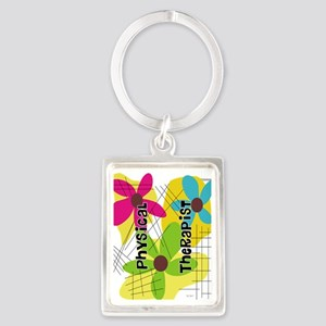 physical therapist 1 Portrait Keychain