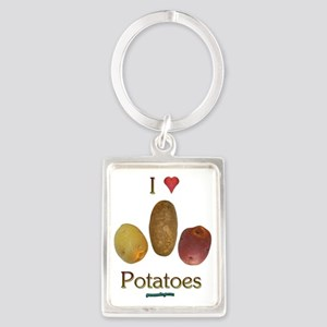 iluv_potatoes Portrait Keychain