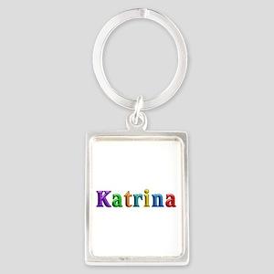 Katrina Shiny Colors Portrait Keychain