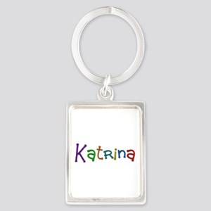 Katrina Play Clay Portrait Keychain