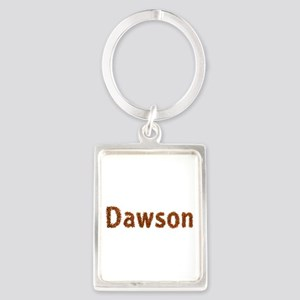 Dawson Fall Leaves Portrait Keychain