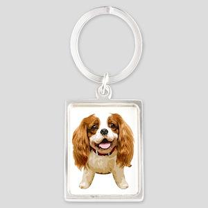 CavalierKingCharlesSpaniel002 Portrait Keychain