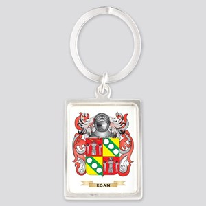 Egan Coat of Arms Portrait Keychain