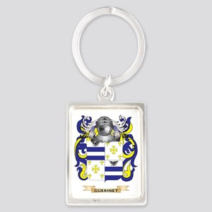 Guerinet Coat of Arms (Family Cr Portrait Keychain