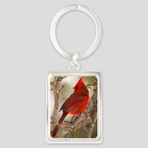 cardinal1pster Portrait Keychain