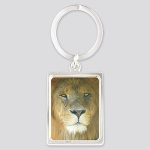 Lion pposter Portrait Keychain