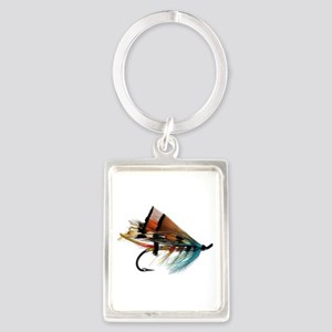 fly 2 Portrait Keychain