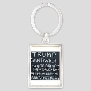 Trump Sandwich Keychains