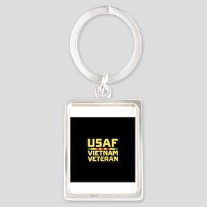 USAF Vietnam Veteran Portrait Keychain