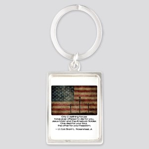 Defining Forces Portrait Keychain