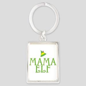Mama Elf Portrait Keychain
