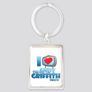 I Heart the Andy Griffith Show Portrait Keychain
