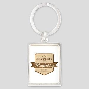 Property of Mayberry Portrait Keychain