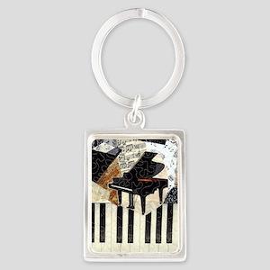Piano9x7 Portrait Keychain