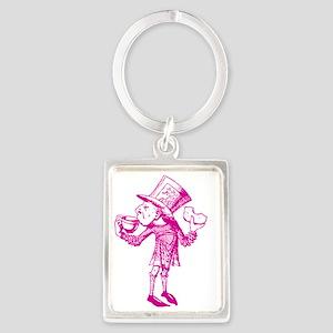Haigha Pink Portrait Keychain