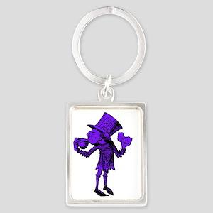 Haigha Purple Fill Portrait Keychain