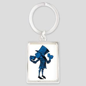 Haigha Blue Fill Portrait Keychain