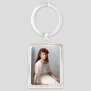 9X12-Sml-framed-print-anastasia Portrait Keychain