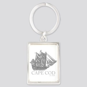 Cape Cod Est. 1620 Schooner Keychains