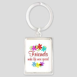Special Friend Portrait Keychain