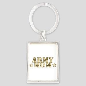 Army Mom Keychains