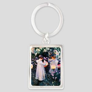 iPad Sargent Lily Portrait Keychain