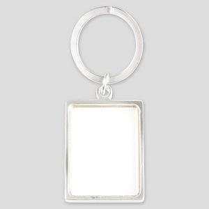 Santa I Know Him Portrait Keychain