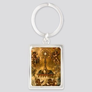 Allegory of the Eucharist Keychains