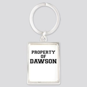Property of DAWSON Keychains