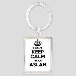 I can't keep calm Im ASLAN Keychains