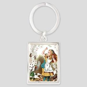 Alice In Wonderland  Portrait Keychain