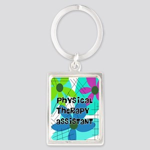 physical therapist asst 1 Keychains