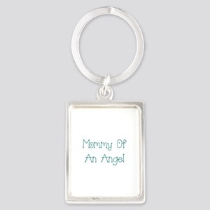 Mommy of an Angel Portrait Keychain