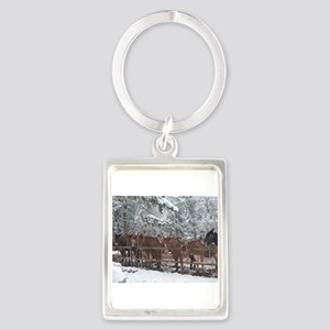 Stables at the Grand Canyon Keychains