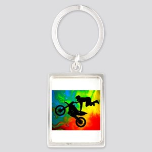 Solar Flare Up Motocross Keychains