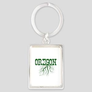Oregon Roots Portrait Keychain