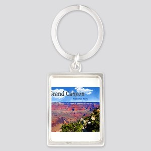 Grand Canyon NAtional Park Poster Keychains