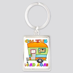 On the road again Keychains