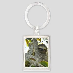 Live Life Like a Sloth Keychains
