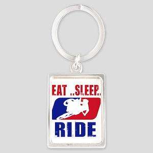 Eat sleep ride 2013 Keychains